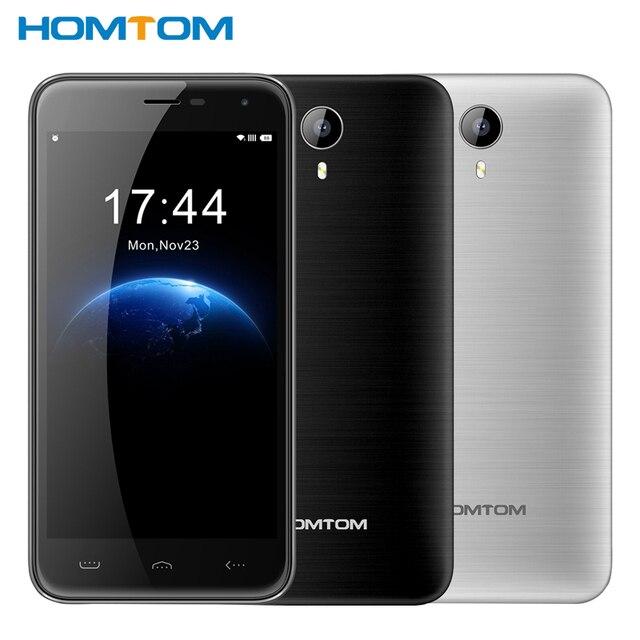Original HOMTOM HT3 MTK6580 Quad Core1.3GHz Cell Phone 5.0'' Android 5.1 RAM 1GB ROM 8GB 3000mAh WCDMA 3G 1280*720p Smart phone