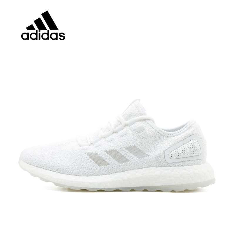 цена на Original New Arrival Official Adidas Sneakerboy x Wish x Pure Boost Men's & Women's Running Shoes Sport Outdoor Sneakers S80981