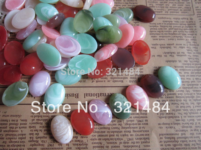 10pcs 25mm Trays + Chain plated necklace pendant setting cabochon ... 99aa28eb3f02