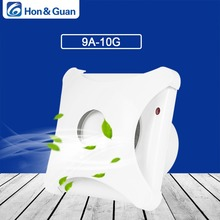 Hon&Guan 110V~240V 14W Home Ventilation Exhaust Fan Wall Mount Low Noise Bathroom Kitchen Air Vent Fans