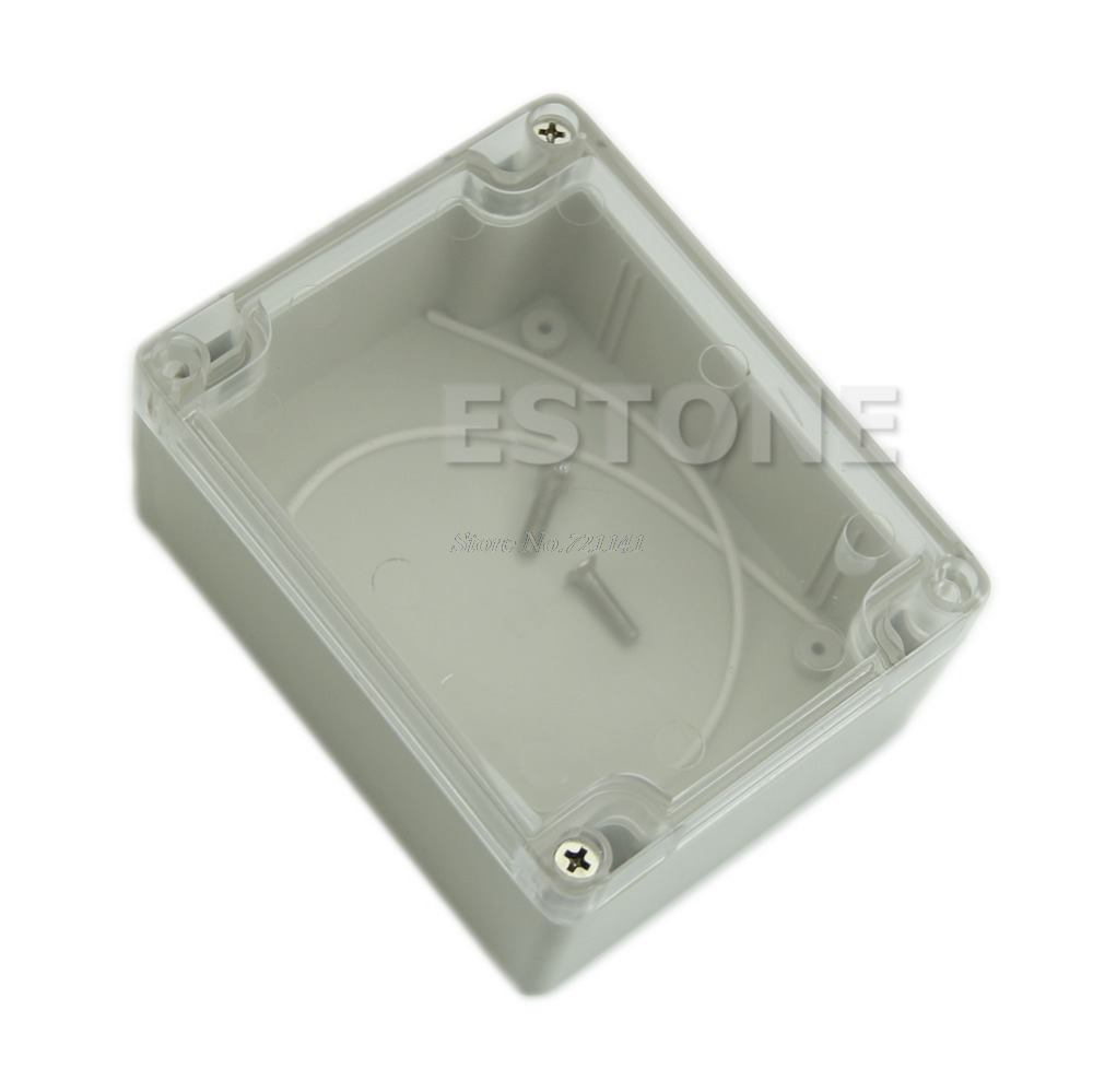 115*90*55MM Waterproof Clear Cover Plastic Electronic Project Box Enclosure Case Dropship