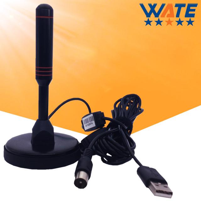 Agosto DTA240 Tdt HD TV de Alta Ganancia Antenas Portátiles de Interior/Al Aire Libre Antena Digital para USB Sintonizador de TV/DVB-T de Televisión/DAB