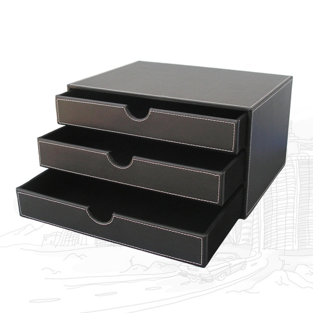 Attirant Aliexpress.com : Buy Ever Perfect 5Pcs/Set Business Desk File Cabinet Stand  Stationery Organizer Pen Holder Box File Rack Ashtray T24 H From Reliable  ...