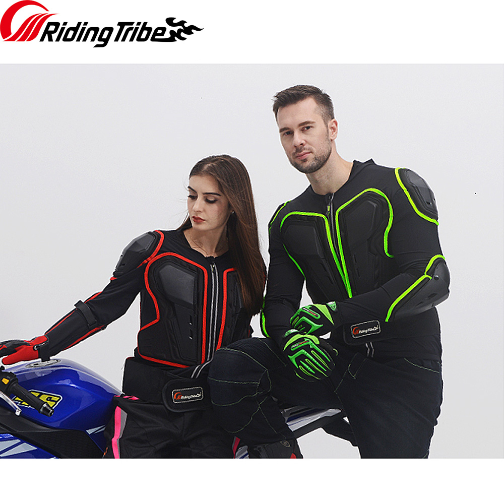 Riding Tribe Motorcycle Jacket Protective Gear Men Women Full Body Motorcycle Armor Motocross Racing Motorcycle Protector HX-P20 herobiker armor removable neck protection guards riding skating motorcycle racing protective gear full body armor protectors