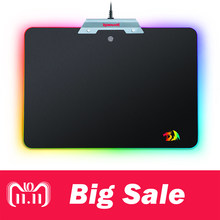 BIG SALE!! redragon P011 Orion Chroma RGB Iluminação Colorida LED Gaming Mouse Pad Mousepad Mat Mesa para Computador Notebook Laptop(China)