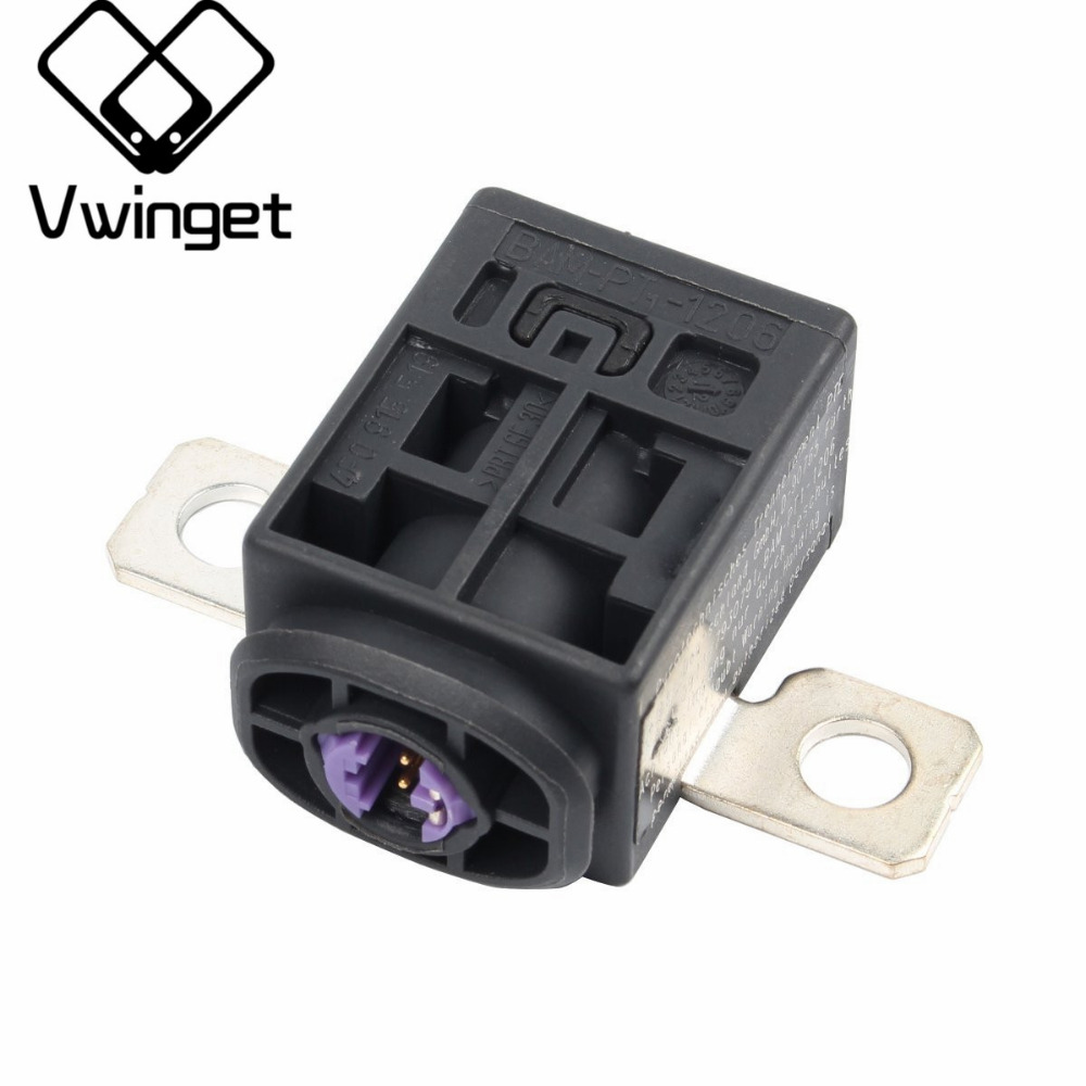 4f0915519 new battery fuse box overload protection trip black for vw touareg audi a3 a4 a5 [ 1000 x 1000 Pixel ]