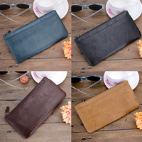 Luxury Zipper Wallet Leather Detachable Magnetic Card Holder Flip Leather Case Cover For 5 5 Inch