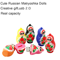 Russian Dolls / baby model usb2.0 1G / 2G / 4G / 8G / 16G USB Pen Drive Disk Flash Memory Stick usb creativo thumbdrive pendrive