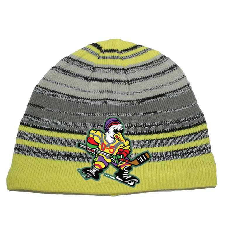 9bff2d5f6 Cool hockey free shipping high quality winter knitted hats with an embroidery  logo for hockey fans