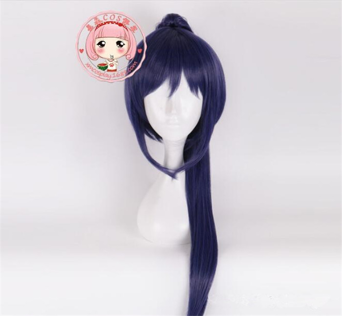 My Hero Academia Akademia Shouta Aizawa 45cm Black Wavy Wig Heat Resistant Cosplay Costume wig A378