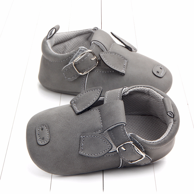 Baby First Walkers Matte leather Shoes for Baby Girl Boy Cartoon Animal Newborn Slippers Footwear Booties Kids Gift Child Shoes (26)