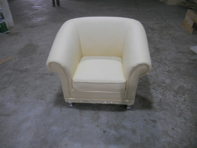 cow genuine leather chair/real leather leisure chair / living room chair home furniture post modern style