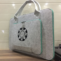 15 6 Laptop Bag Fashion Wool Felt Laptop Sleeve Briefcase 11 13 14 15 4 15