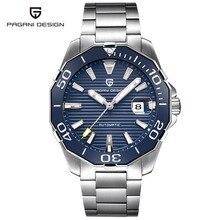 Relogio Masculino 2017 PAGANI DESIGN Mens Automatic Mechanical Watches Men Military Sport Luminous Watch Male Clock Wristwatch