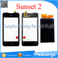 For Wiko Sunset 2 Touch Screen Digitizer Panel Sensor Glass replacement Ship with track