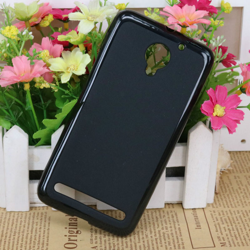 1 Pc/lot Case Silicone Cover New Luxury Soft TPU Pudding Cases For Lenovo Vibe C2 Power Black - intl