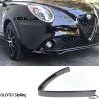 Car Styling Decoration Logo Cover Car Body Front Grille Frame Trim For Alfa Romeo Stelvio (2pcs) Giulia (1pcs) Car Head Grilles