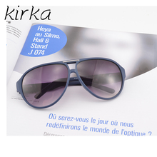 Kirka Unisex Acetate with CR39 lens Sunglassses Women Retro Round Frame Simpel Style For Women Men Sunglasses(China)