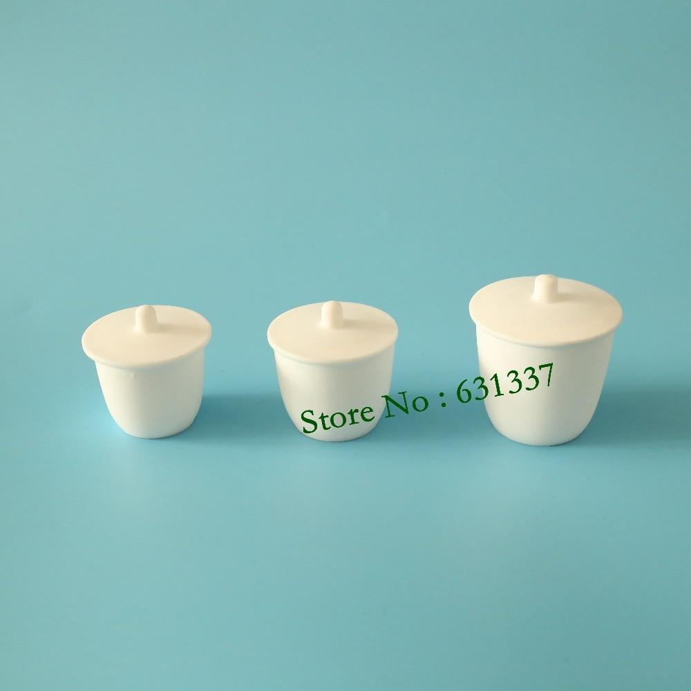 Laboratorio 150 ml ptfe teflon crogiolo interruttori con coperchioLaboratorio 150 ml ptfe teflon crogiolo interruttori con coperchio