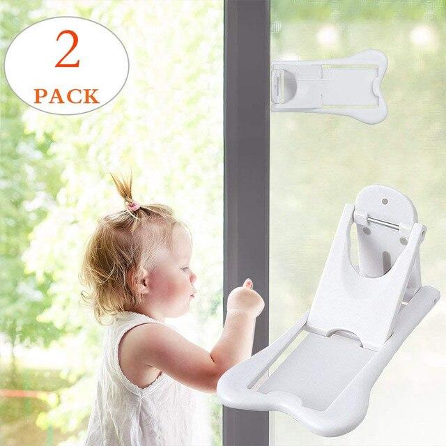 2 шт. раздвижные двери замок для безопасности детей детские доказательство двери и шкафы восковыми ваш Новое поступление дропшиппинг