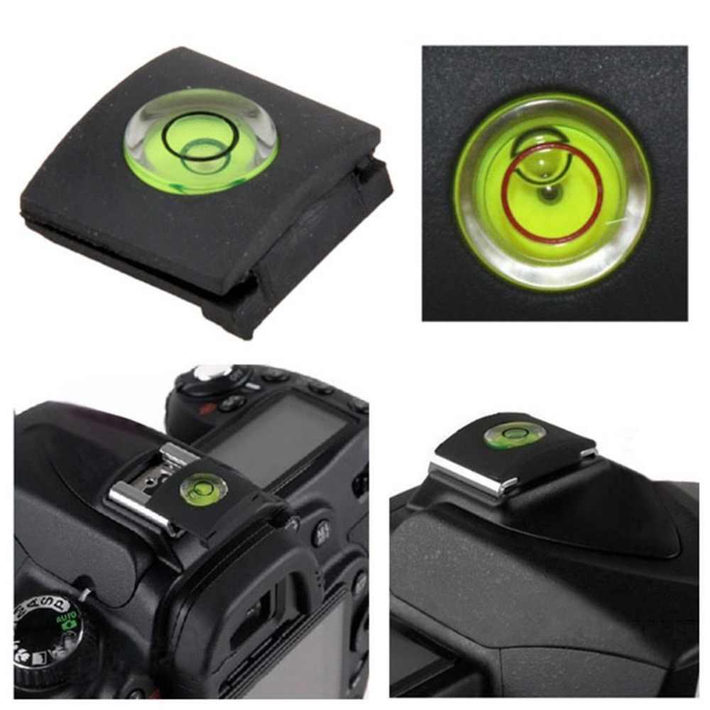 Câmera Sapata Nível de Bolha de ar Tampa Protetora Cap Para Canon Para Nikon Para Pentax