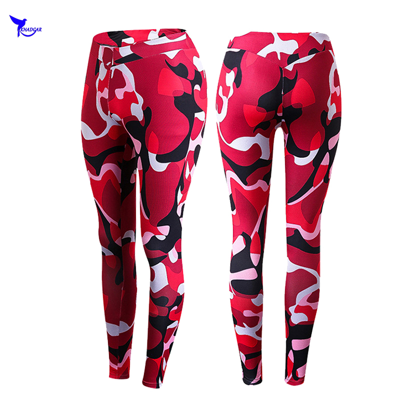 Women Joggers Compression Pants Crossfit Camouflage Army Skinny Pants Quick Dry MMA GYMS Trousers Fitness Elasticity Sweatpants