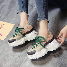 Centenary  Winter Platform Sneakers Women Height Increasing High (5cm-8cm) womens sneakers shoes 2018 fashion womans