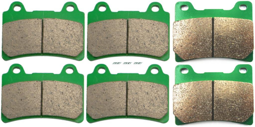 Disc Brake Pads Set For Yamaha Xj900f Xj900 Xj 900 F Diversion 1995 & Up/ Xjr1200 Xjr 1200 1994 & Up