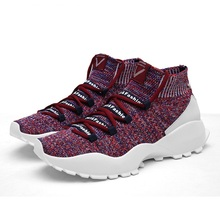 New arrival primeknit running shoes for men 2019 Flywire Breathable Sock Lightweight Sneakers Men Zapatillas Hombre pk