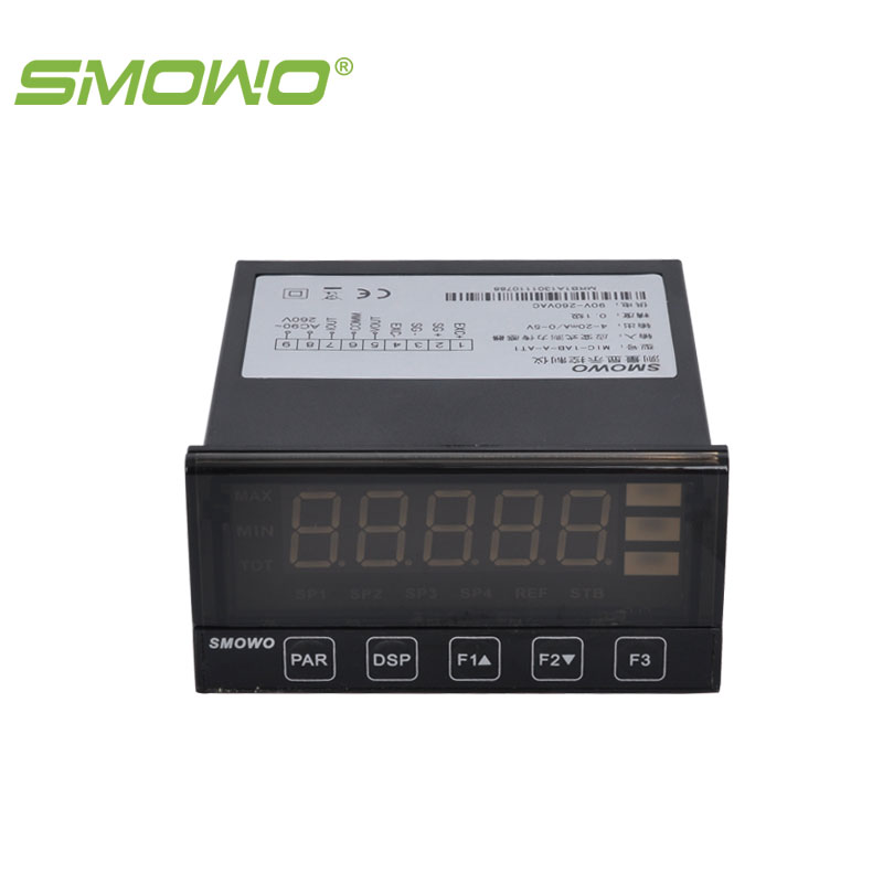 Digital display controller indicator MIC-1A dmx512 digital display 24ch dmx address controller dc5v 24v each ch max 3a 8 groups rgb controller