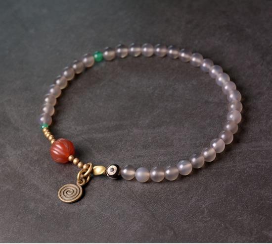 Red-Pumpkin-Agate-Mixed-Buddha-Eyes-Bead-bracelet-Tibetan-Buddhism-Zen-Healing-brass-beads-White-Grey-Agate-Friendship-Jewelry (14)
