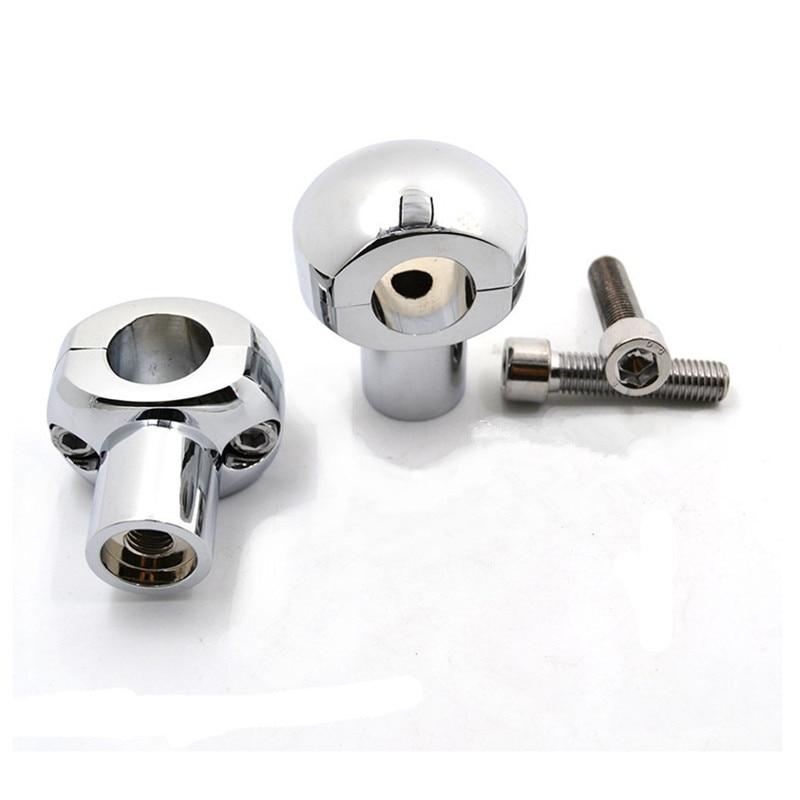 1 Pair CNC Aluminum 1 25mm Motorcycle Bar Clamp Handlebar Bar Riser For Honda Kawasaki Harley
