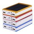 Universal 12000 mah banco de energia solar para a bateria do telefone carregador solar solar power bank bateria externa para iphone samsung telefone