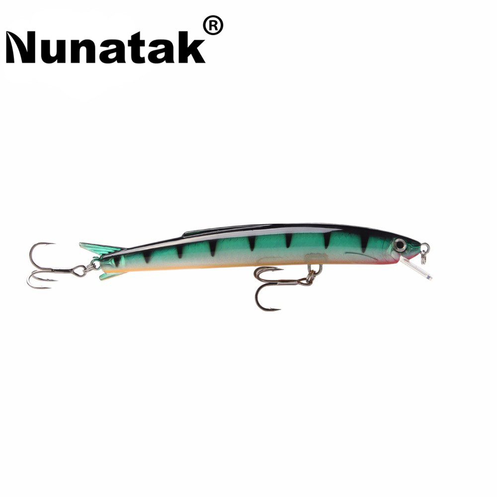 Nunatak SK005 Minnow Fishing Lure 1 PC 13g 11 cm Diving Depth 0.3-0.9 M Artificial Bait Fishing Equipment Casting Bait