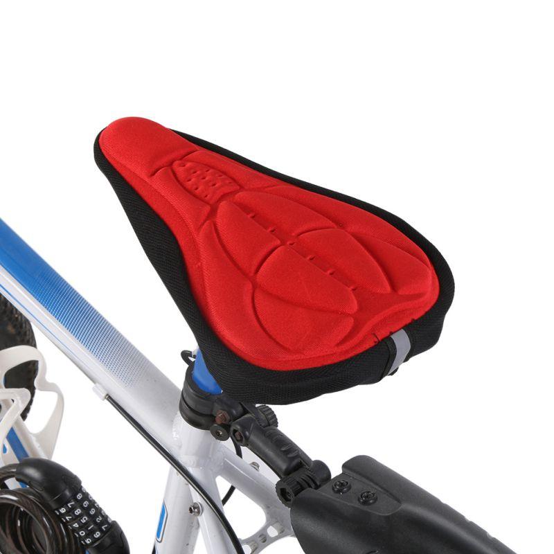 Mountain Bike Road Bicycle Seat Saddle Cover Cushion Silica Gel Foam Padding