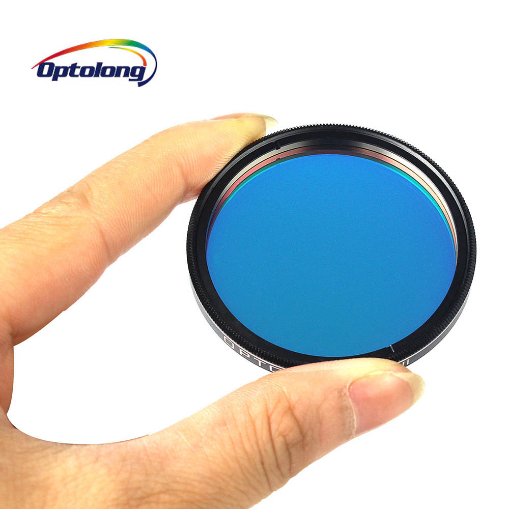 OPTOLONG 2 18nm O III Filter for Telescope 2 inch Eyepiece Cuts Light for Astronomy Telescope