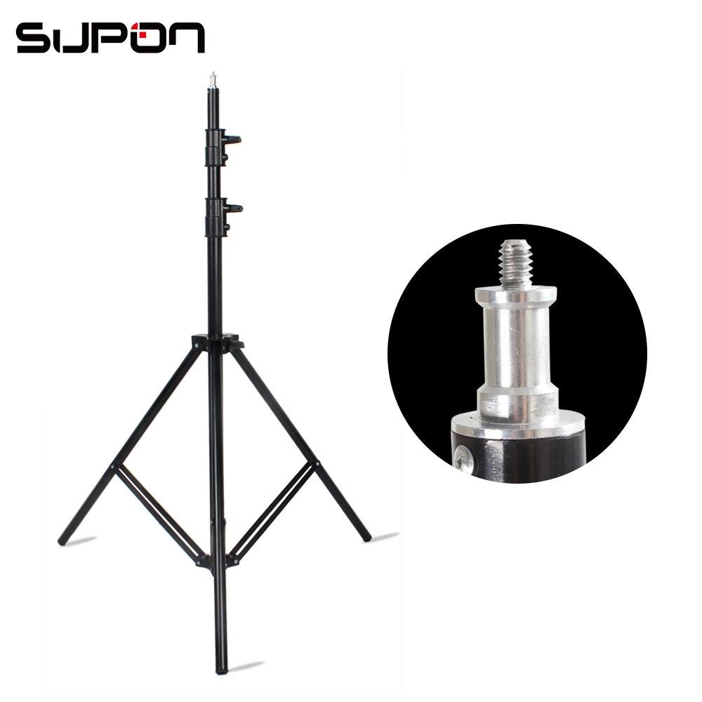 bilder für Foto video studio light stand 10ft 300 cm luftpolster für godox de300 400 watt foto stuido strobe lampe