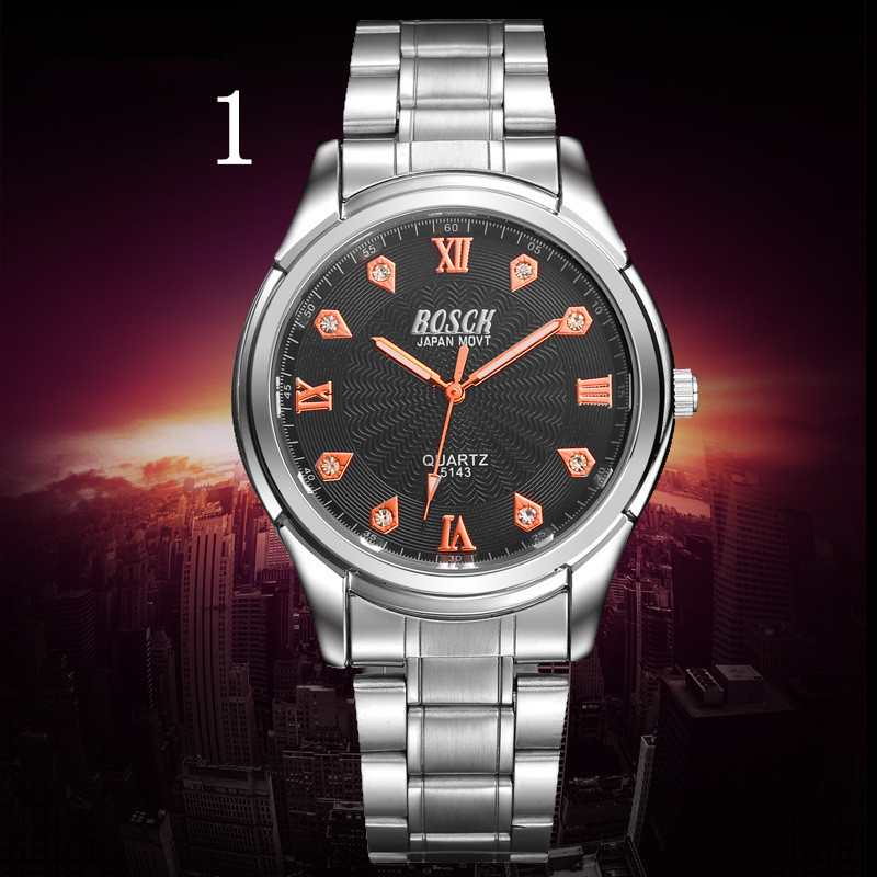 Mens Watches Top Brand Luxury Sport Quartz Watch Men Business Stainless Steel Silicone Waterproof Wristwatch relogio 2018 top brand luxury diamond watch men golden stainless steel quartz watches casual business waterproof wrist watch relogio new
