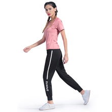 Stretch Pocket Tarja Summer Breathable Sports Running Fitness Yoga Exercise Quick Dry Loose Pants Sweat Jogging Pants tarja