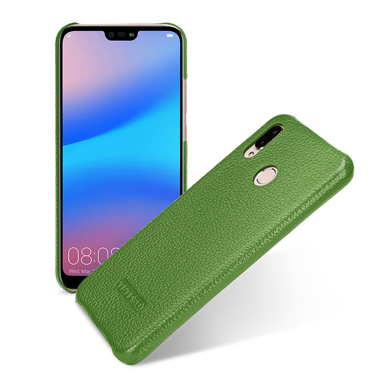 Coque de téléphone de luxe en cuir véritable pour Fundas Huawei P20 Lite étui mince Coque arrière peau Coque capa pour Huawei nova 3e 5.84 pouces