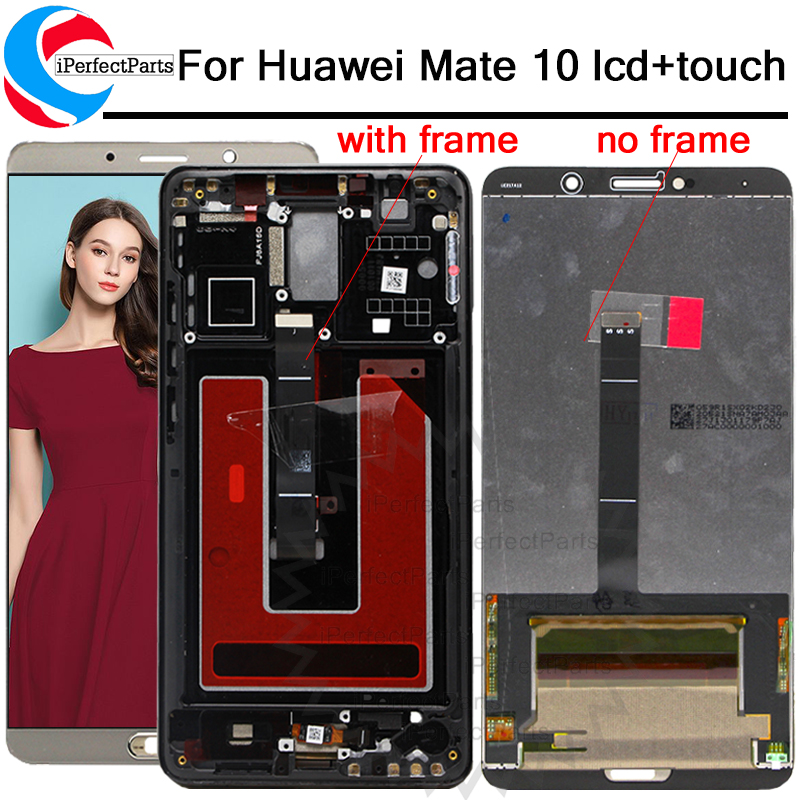 5 9 for Huawei Mate 10 LCD Display Touch Screen ALP L09 ALP L29 Digitizer Assembly
