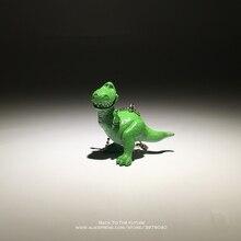 Disney Toy Story 3 Rex el dinosaurio verde Q Versión 4 cm PVC figuras de acción  mini Dolls niños juguetes modelo para niños rega. 0131290f0e1