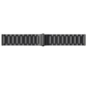 Image 5 - OULUCCI Classic Three Beads link Stainless steel Metal watch band Bracelet Strap Wristband Replacement Fitbit versa watch band