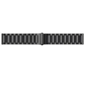 Image 5 - OULUCCI Klassische Drei Perlen link edelstahl Metall uhr band Armband Armband Armband Ersatz Fitbit versa uhr band