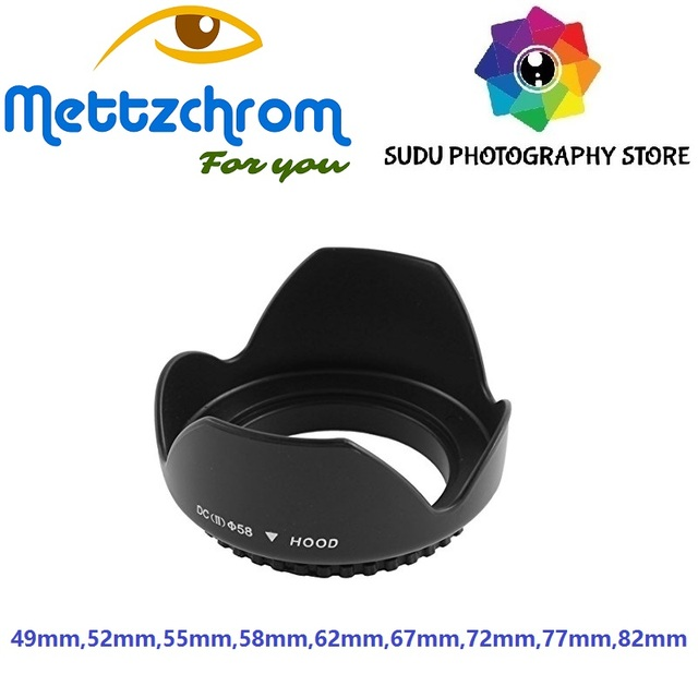 LENS HOOD 49MM 52MM 55MM 58MM 62MM 67MM 72MM 77MM 82MM LENS HOOD FOR CANON FOR NIKON