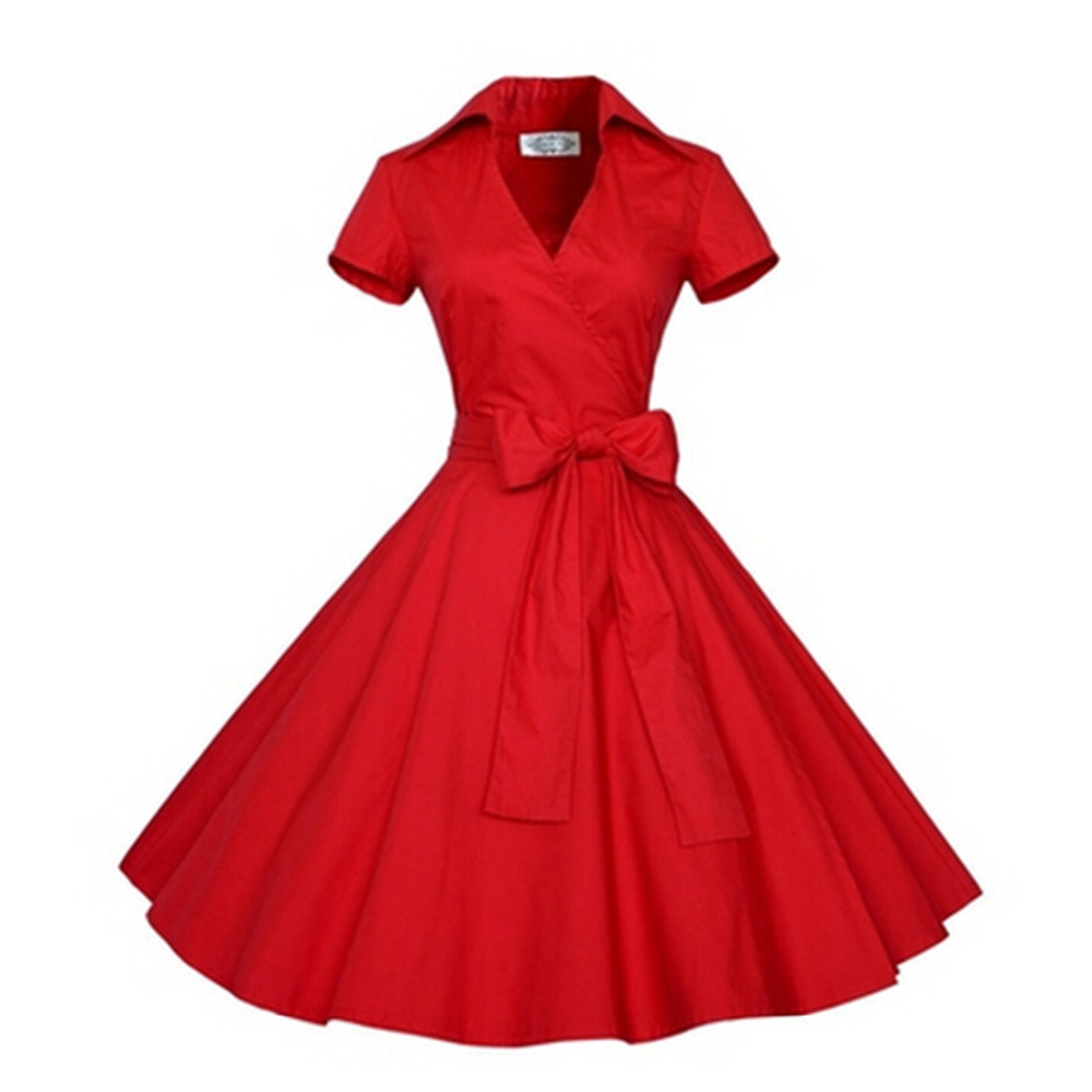 2016 Summer Audrey' Hepburn Style 1950s 60s Vintage Retro