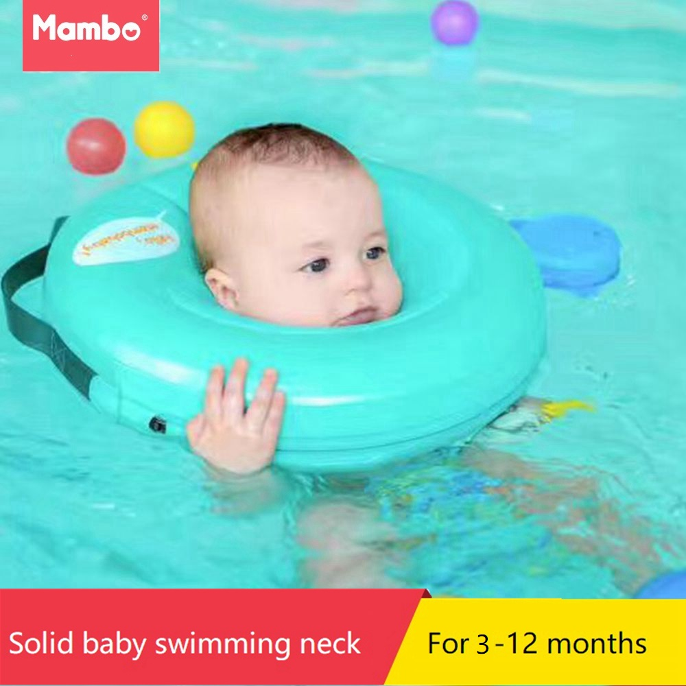 Swimtrainer No need pump air More Safety Swimming Ring Free inflatable collar Quality Baby Neck Swimming Ring 3-24months booty bands set resistance bands for a bikini butt glutes muscle waist belt adjustable workout with carry bag and a full guide