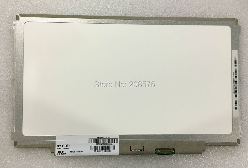 Free shipping HB125WX1 100 HB125WX1 201 LP125WH2 TPB1 B125XTN03 For Dell E7240 HP 820 G2 LCD