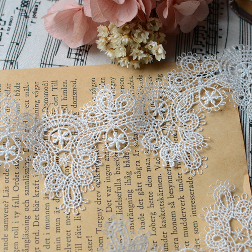 White lace trim lace accessories necklace laciness high quality hydrotropic embroidery  lace fabric trimming 10 yards/Lot-in Lace from Home & Garden on ...