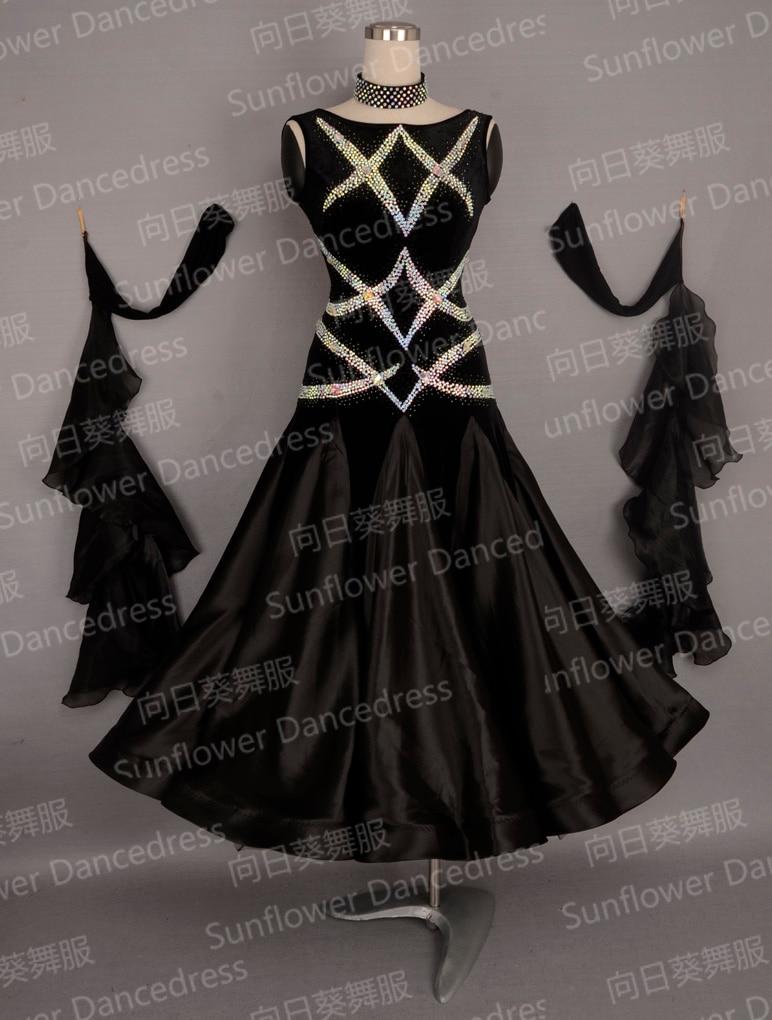 New Top sales New Style ballroom Standard Dance font b Dress b font Waltz Competition font
